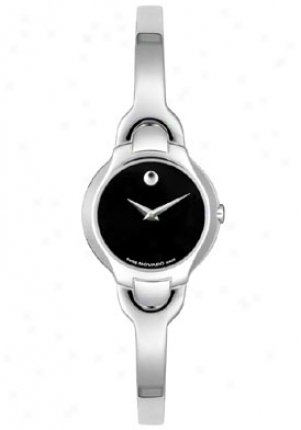 Movado Women's Kara Swiss Watch Stainless Steel 0605247