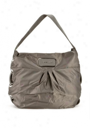 Mugler By Thierry Mugler Green Nylon Hobo Mt884n2501-kaki