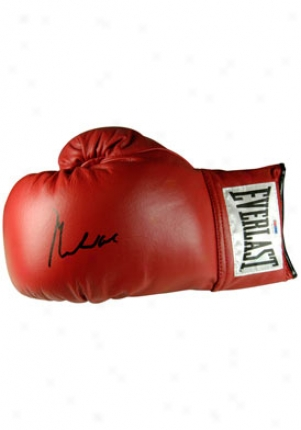 Muhammad Ali Muhammad Ali Autographed Red Glove Redglove1