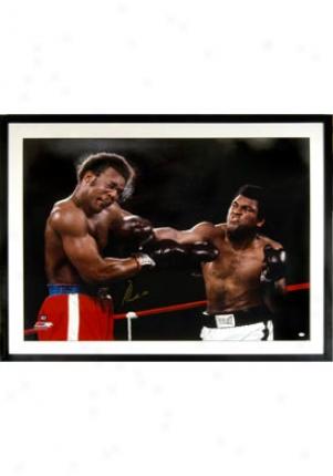 Muhammad Ali Muhammad Ali Vs. Georgee Foreman Autographed Picture Foreman1f30x40