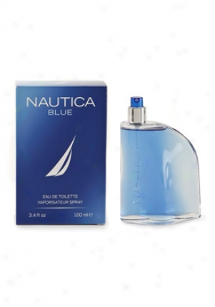 Nautica Blue Eau De Toilette Spray 3.4 Oz Blue-men-3.4