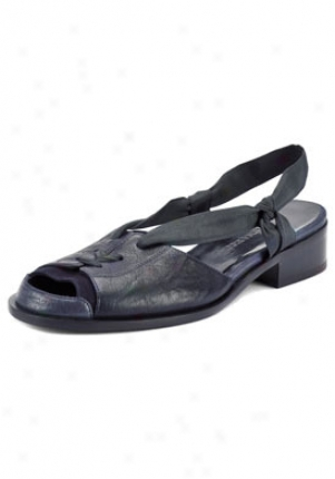 Nina Ricci Blue Peep Toe Sandals Sh014med01-bm-36