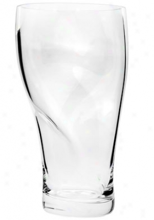 Orrefor Squeeze Clear Medium Crystal Vase 6279623