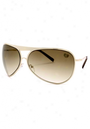 Phat Farm Aviator Sunglasses 5018-grn-66-14-133