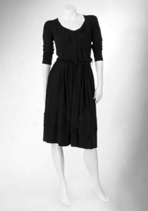 Prada Black Long Sleeves Get  Dr-33106sht-blac-kl