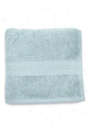 Presidential Suite Aqua Bamboo/cotton Skill Towel Ba-10158hab26-aqua