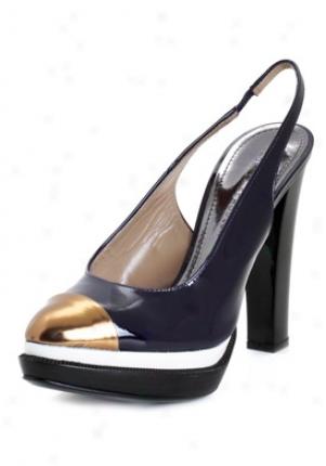 Proenza Schouler Purple Patent Leather Platform Slingbacks Oi9500-viole-37.5