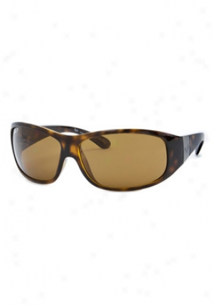 Ray-ban Wraparound Sunglasses Rb4110-710-57-3p-64