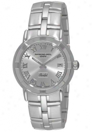 Raymond Weil Men's Parsifal Silver Dial 9541.st00658