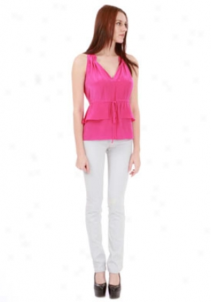Rebecca Taylor Pink Perfect Day Top Wtp-15800210