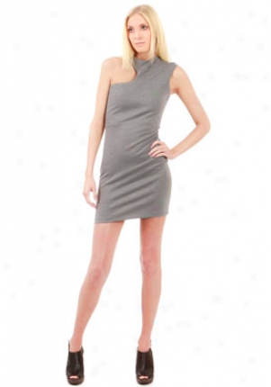 Reed Grey Cut-out Arm Mini Dress Dr-278004-6