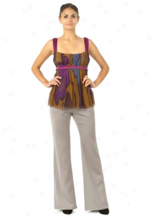 Roberto Cavalli Putty Grey Wool Pants Wbt-mpt242wp09-p46