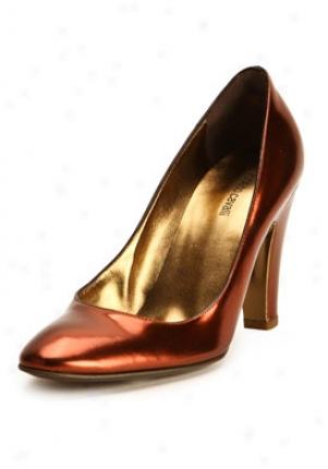 Roberot Cavalli Reddish Metallic Leagher Pumps L770100020-ra-39