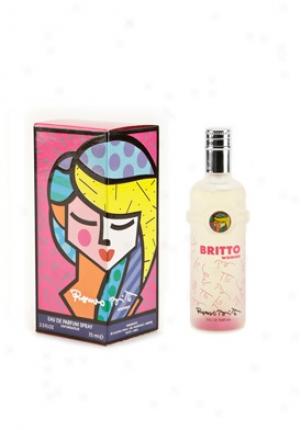 Romeo Britto Eau De Parfum Spray 2.5 Oz Pink-women-2.5