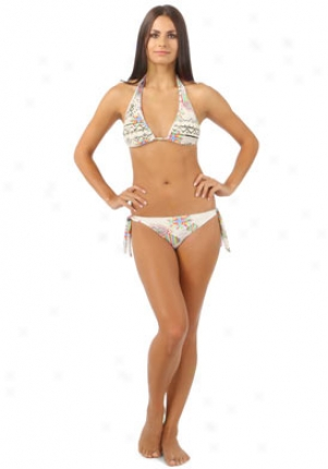 Rosa Cha Multicolor Two Piece Swimsuit Wtp-71521geoc-cr-l