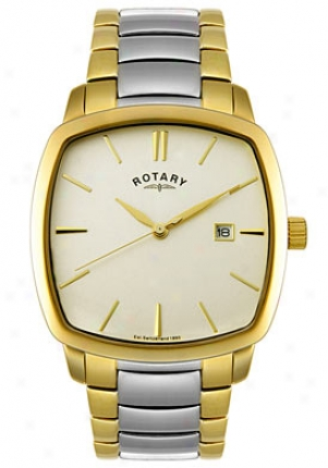 Rotary Men's Two Tone Stainless Steel Gb02522/03
