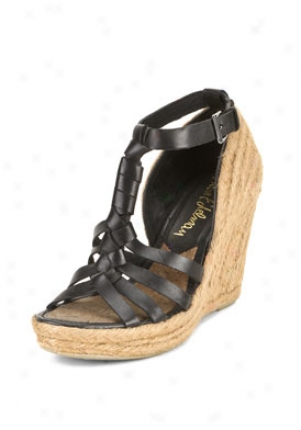 Sam Edelman Black Strappy Wedges Leroy-black-9.5