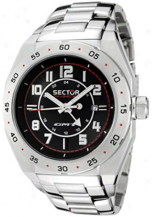 Sector Men's Race Gmt Dismal Dial Stainless Steel R3253660025