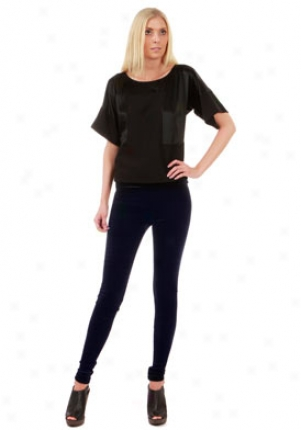 See By Chloe Dismal Wool Blouse Wtp-96056-blk-40
