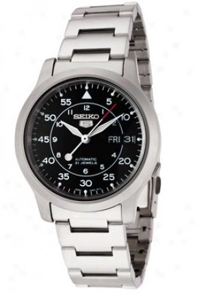 Seiko Men's Automatic Stainless Steel Snk809k