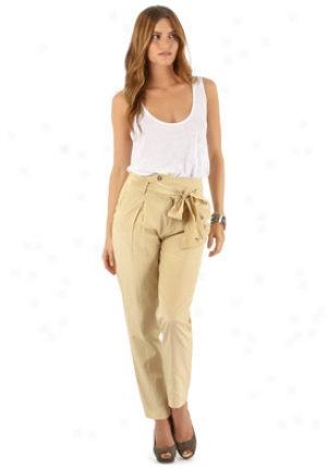 Strong & Dickerson Khaki High Waistedd Pants Wbt-sds11b1-kha-4