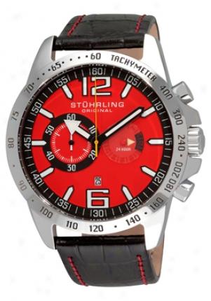 Stuhrling Original Men's Concorso Laureate Quartz Chronograph 210b.331540