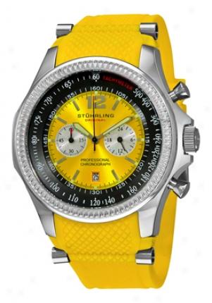Stuhrling Original Men's Targa Sport Quartz Chronograph 176b3.3316g22