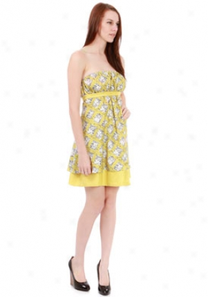 Susana Monaco Pumello Yellow Salma Dress Dr-890386