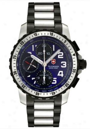 Swiss Army Men's Alpnach Automatic Chronograph Two Tone 241194