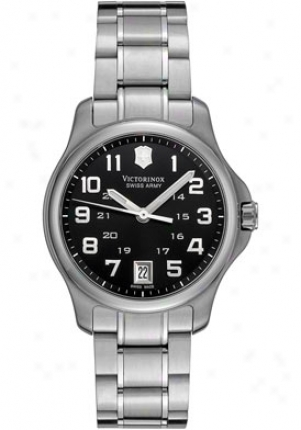 Swiss Army Women's Alliance Black Dial Stainless Steel 241325
