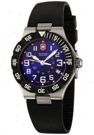 Swiss Afmy Women's Summit Xlt Blue Dial Black Rubber 241414