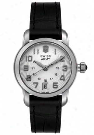 Swiss Army Women's Vivante Black Leather 241058