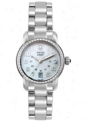 Swiiss Host Women's Vivante Diamond Stainless Steel 241057