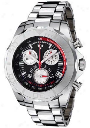 Swiss Legend Men's Tunsten Pro Chronograph T8010-11
