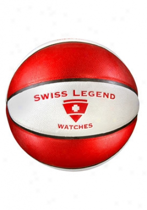 Swiss Legend Swiss language Legend Red And White Basketbal Basketball