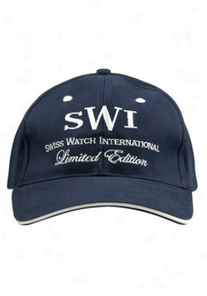 Sqiss Watch International Swiss Watch International Limited Edition Melancholy Cap Blue/swil