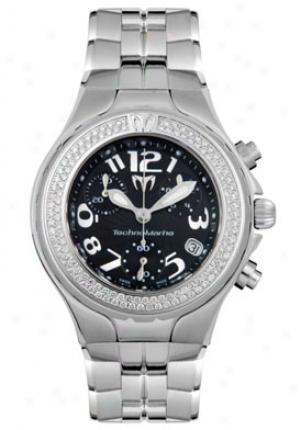 Technomarine Men's Technoddiamond Diamond Chronograph Dt02m