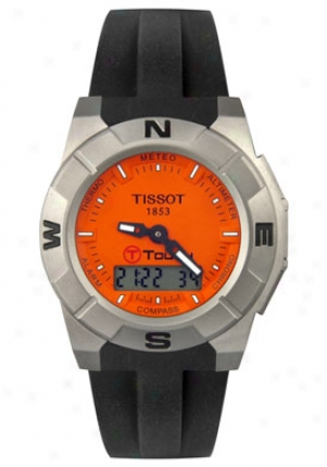 Tissot Men's T-touch Trek Multi-function Black Rubber T0015204728100