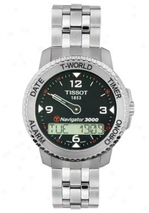 Tissot Men's Touch Navigator 30000 Multi-function Stainless Steel T96.1.488.52