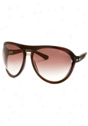 Tom Ford Milo Aviator Sunglasses Ft0073-u43-62-16-120
