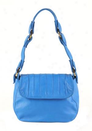 Tracy Zych Blue Myrtis Shoulder Bag 00173003-co-os