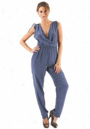 Tucker Blue Silk Jumpsuit On-wjs211-bluala-m