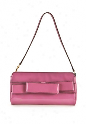 Valentino Pink Patent Leather Projection Bag 5wb00386-avn-peoni
