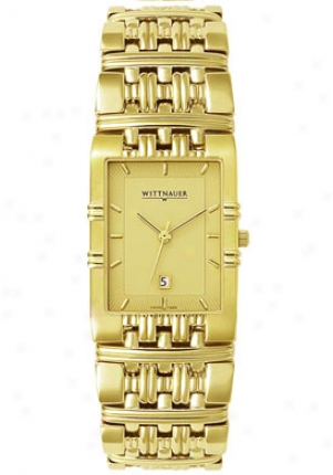 Wittnauer Men's Laureate Goldtone 11b06