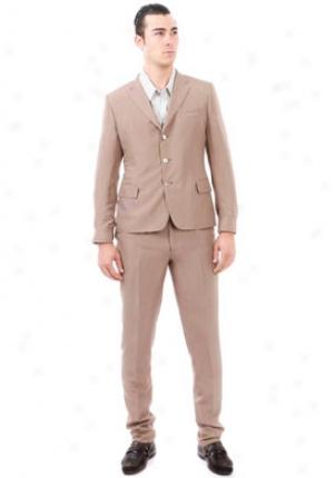 Yves Saint Laurent Light Brown Silk Jaacket Ja-215474-yfo04-mink-52