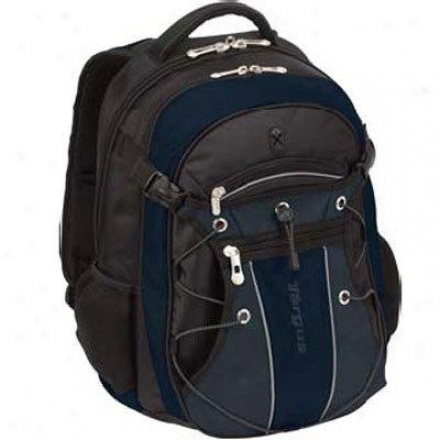 "15.4"" Lapto pLeague Backpack - Black/navy Tsb07501us"