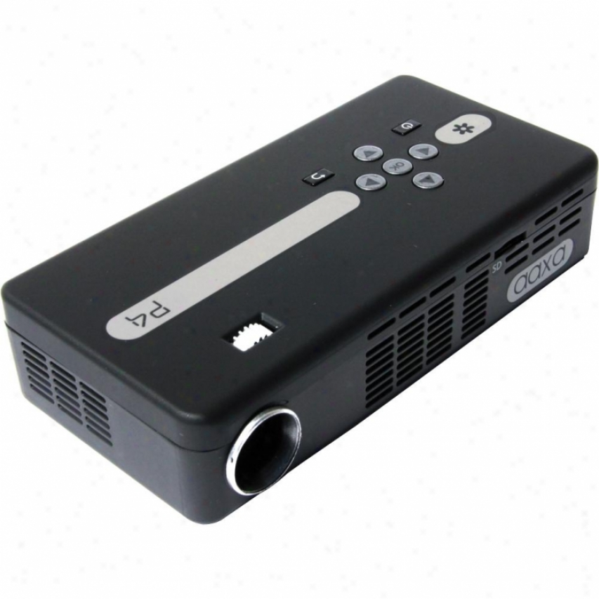 Aaxa Tech P4 Pico Multimedia Projector - Dlp Technology