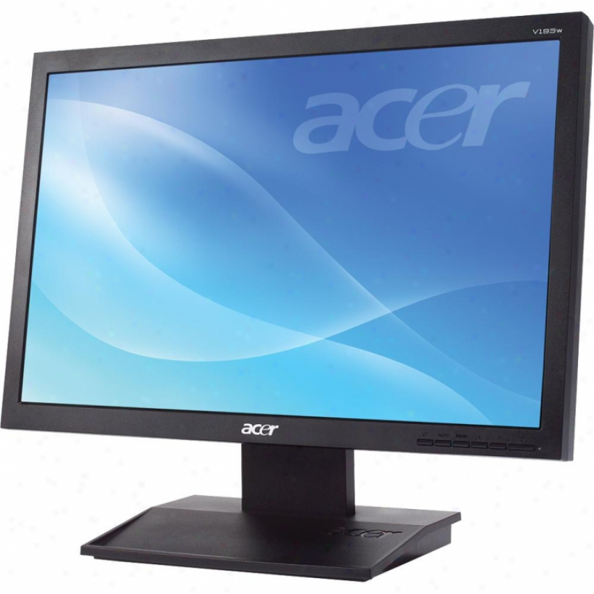"Acer Computer 19"" 1440x900 Lcd Epeat Black"