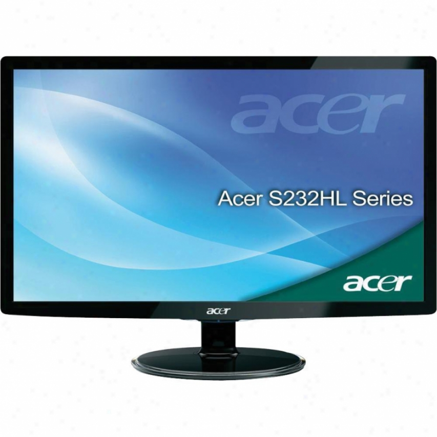 "Acer Computer 23"" Ultra-slim Lee Monitor S232hl"