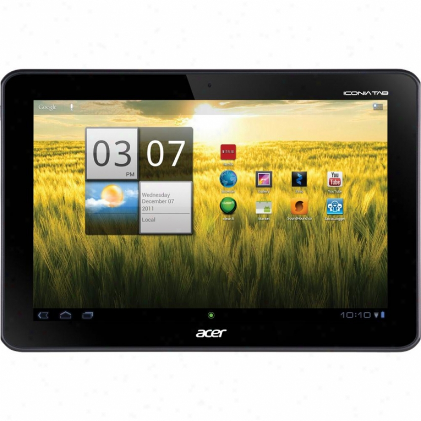 "Acer Computer Iconia Tab A200 16gb 10.1"" Android Tablet - Titanium Gray"